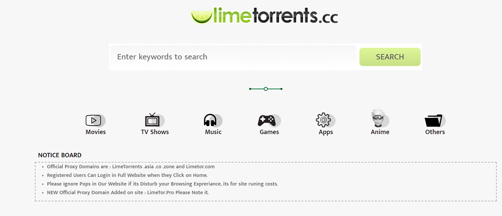limetorrents-proxy-sites-list